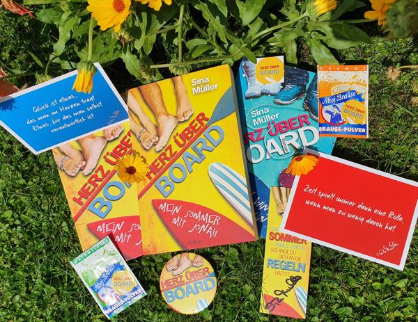 Herz über Board - Sommer-Buchboxaktion 3